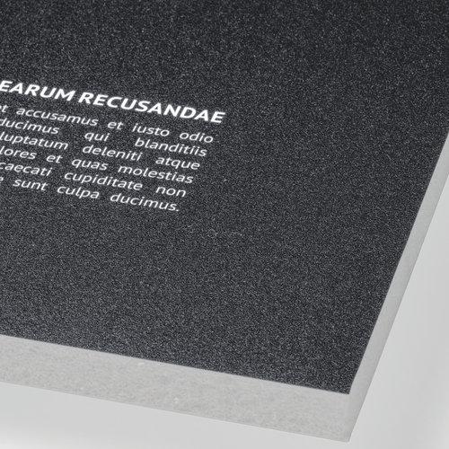 Soft foam board, grey